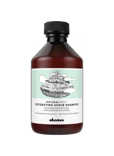 Nt Detoxifying Scrub Shampoo 250 Ml-Davines